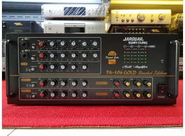 Amplifier Jarguar PA-506 Gold Limited Edition