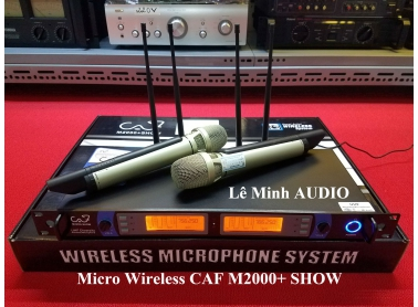Micro Wireless CAF M2000+ SHOW